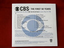 CBS THE FIRST 50 YEARS~ THEME SONGS~ MEGA RARE~ PROMO ONLY ~CD