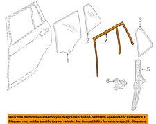 Bmw Oem 13-15 X1 Window Glass-Rear Door-Run Channel Left 51352990319