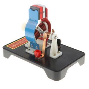 Mini Elektromotor Modellbausatz Physik Experiment Werkzeug Kinder Pädagogisches