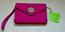 """Vera Bradley """"Your Turn"""" Smartphone Wristlet Wallet - Magenta - New With Tags"""