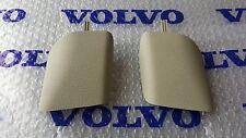 Volvo S70 V70 V70 XC V70 R Beige Arena Tan B Pillar Trim Panels Pair 1998-2000