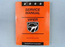 Service Manual, 2000 Dodge Viper (SR), 81-270-0050