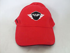 Wing Flyer Aviation Adjustable Strap Red Hat
