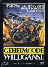 CODE NAME WILD GEESE - Blu Ray & Dvd + Mediabook..Lewis Collins..Lee Van Cleef..