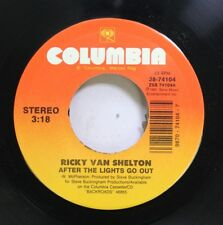 Country 45 Ricky Van Shelton - After The Lights Go Out / Oh Heart Of Mine On Col