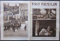 1931 PRO FAMILIA Santa Sindone Santo Sudario Torino ostensione esposiz coloniale