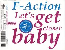 F-ACTION - Let's get closer baby ('96 REMIXES) 6TR CDM 1996 HOUSE