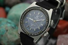 Vintage TISSOT Sonorous PR-516 Alarm Stainless Steel Diver Watch
