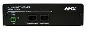 AMX NXA-AVB/ETHERNET Video Extender (FG2254-10) - Audio/Video Breakout Box