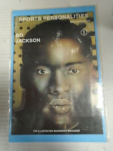 Revolutionary SPORTS PERSONALITIES #1 (1991) Bo Jackson, Biography, Magazine