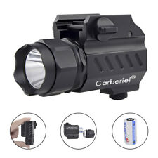 Garberiel G02 LED Tactical stund Gun Flashlight 2Mode 15000LM Pistol Torch Light