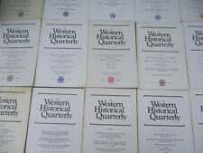 Western Historical Quarterly Wild West History Settlers Pioneers Cowboys 1970s