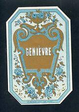 ETIQUETTE / GENIEVRE F. MEYER  VAN LOO GAND