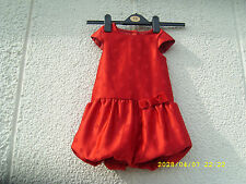 George Polyester Spotted Dresses (0-24 Months) for Girls