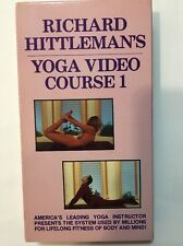 Hittleman Yoga - Course 1 (VHS) TAPE COLLECTIBLE VINTAGE RARE