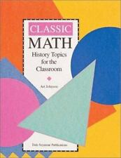 D.S.P.S. Classic Math History Topics for the Classroom (1994)VG(R3S4-2M)R