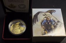 2014 $20 Fine silver Legend of Nanaboozhoo - with Cao and Box not sale tax