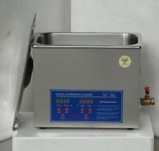 6L Ultrasonic cleaner Timer Heater basket 180W 110 or 220V