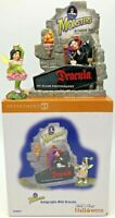 Dept 56 Snow Village Halloween Autographs with Dracula Universal Monsters 799977