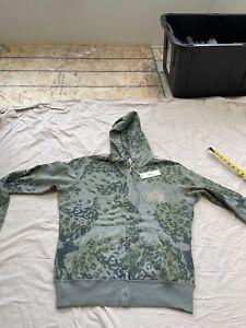 NWT $180 Diesel Salcy hoodie in size L in green