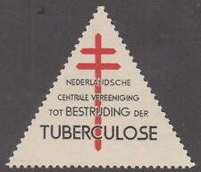 Netherlands Christmas Seal Cinderella Anti-TB Charity Triangle 1947