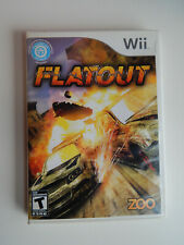 FlatOut Game Complete! Nintendo Wii