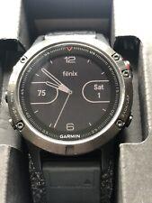 Garmin Fenix 5 47mm Slate Gray Multisport GPS Watch. 3 Month Guarantee