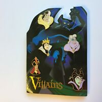 DisneyShopping.com - Villains Card - 5 Pin Set - LE 1000 Disney Pin 57410