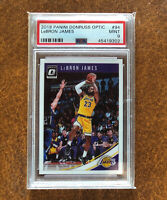 🏀 Lakers Lebron James Graded Card 2018-19 Panini Donruss Optic Base #94 PSA 9