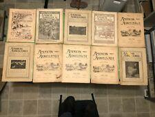 LOT OF 36 1868 - 1905 THE AMERICAN AGRICULTURIST MAGAZINE ANTIQUE FARM EQUIPMENT