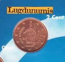 Saint Marin - 2006 - 2 centimes d'euro - Pièce neuve