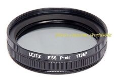 LEITZ P-CIR Filtro Polarizzatore Per E55 13357 55 mm PER SUMMICRON-R 90 mm Elmarit-R 35 mm