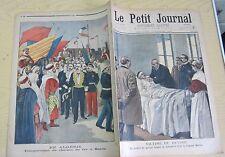 Le petit journal 1900 483 Inauguration chemin de fer à Saïda en Algérie