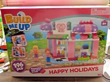 Girls Happy Line, Cake Shop Building Set Compatible With Other Major Brand, 196