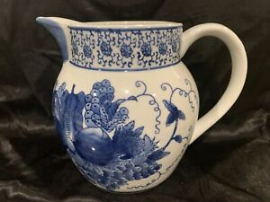 NANTUCKET White PITCHER with Vegetables
