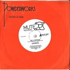 """Erasure, 45rpm """"Mute"""" single- oh L'Amour / March On Down The Line"""