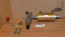 New listing Allenair pneumatic cylinder E4X3F3 & Air-mite 4 way control valve clamping A4