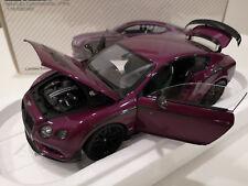 Almost Real 1/18 - Bentley Continental GT3 R - 2015 - Magenta Purple 830404