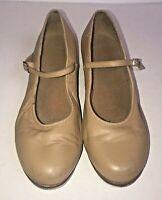 Women's Bloch Tan Tap Dance Shoes, Size 10