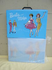 BARBIE & MIDGE REPRODUCTION DOUBLE DOLL CASE *NEW* IN FACTORY TISSUE