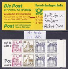 Berlin Mi.Nr.532,534 u 536 C / D - MH 10 bb m. ZB - B&S postfrisch Jahrgang 1977