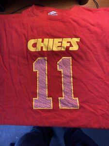 Alex Smith Kansas City Chiefs T-shirt Team Apparel 3XL. Collectors Item