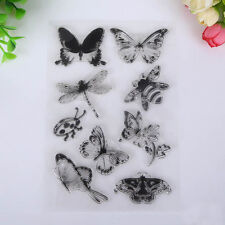 Ladybug Craft Scrapbooking Butterfly And Bee Rubber Stamp Transparent Clear