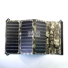 sunpower 18 W Solar Charger Dual  usb for Phone mp3 powerbank iphone