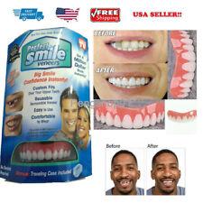 Perfect Instant Smile Top Teeth Veneers Comfort Fit Flex Temporary Cosmetic Kit
