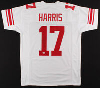 Dwayne Harris Signed New York Giants Football Jersey (JSA COA Authenticated) NFL