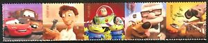2011 #4553-57 Forever - Pixar Films: Send a Hello - Strip of 5 Stamps - Mint NH