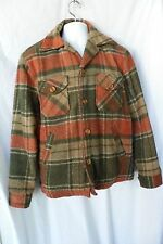 MALE DUDS Vintage PLAID Jacket 1960S?, Size MEDIUM