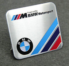 Auto Alu Schriftzug Aufkleber Emblem Plakette für M Powered By Motorsport Platz