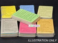 QUIZ MASTER 50 TRIVIA QUESTION CARDS - ICE BREAKERS / PARTY GAME / PUB QUIZ